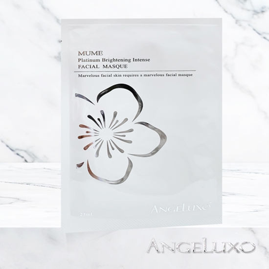 圖片 ANGELUXO 寒之珞雪 MUME Platinum Brightening Intense Facial Masque 沐梅鉑金鑽白面膜