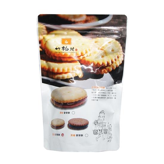 圖片 【竹柏苑】柴燒麥芽餅共8包(買6送2)-美