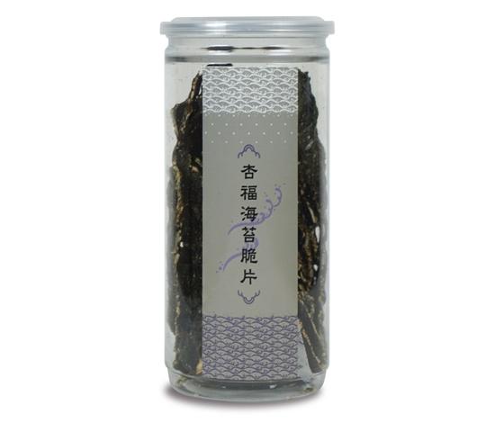 圖片 棗到杏福 杏福海苔脆片(120g/罐 共4罐)