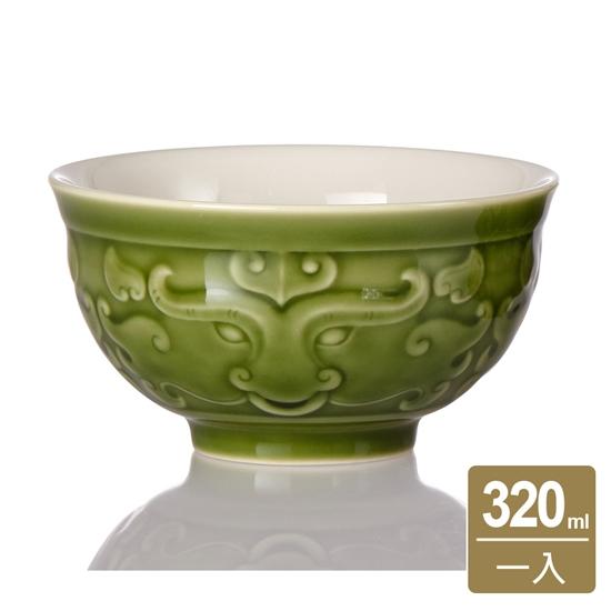 圖片 乾唐軒活瓷   牛勢飯碗一入 / 綠釉 320ml