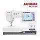 (買一送一)日本車樂美JANOME MC11000刺繡縫紉機加送刺繡軟體組合