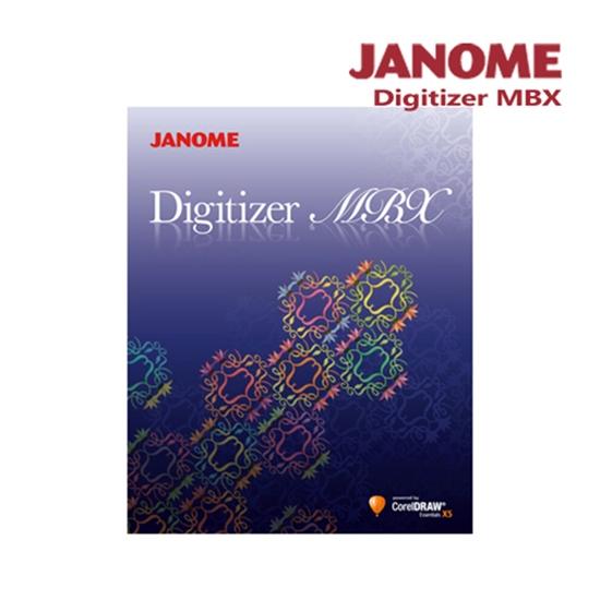 圖片 日本車樂美JANOME Digitizer MBX 刺繡設計軟體
