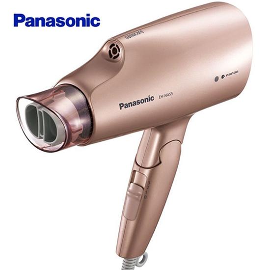 圖片 Panasonic 國際牌 奈米水離子3段溫控國際電壓折疊式吹風機 EH-NA55-PN -