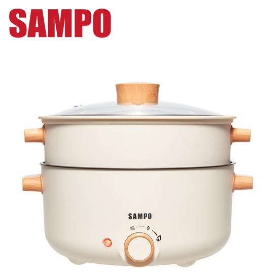 圖片 SAMPO 聲寶  3L日式多功能蒸煮料理鍋 TQ-BE30C -