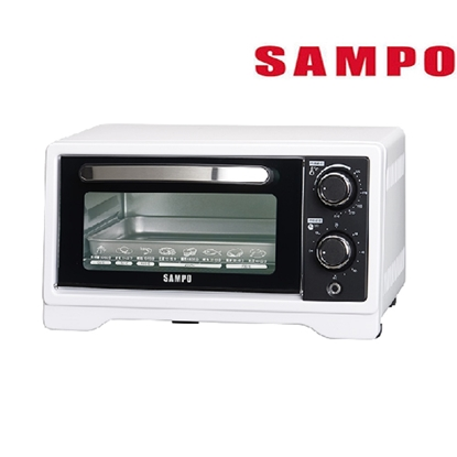 SAMPO 聲寶 9L旋鈕式定時溫控烘烤電烤箱 KZ-XF09 -