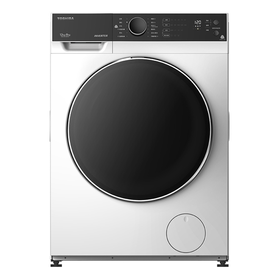 圖片 TOSHIBA 東芝 12kg變頻溫水洗脫烘滾筒洗衣機 TWD-BJ130M4G-含基本安裝+舊機回收