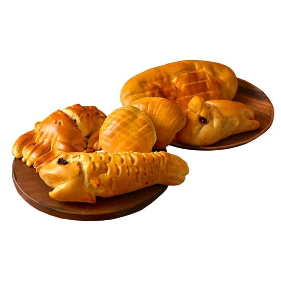 【滋養軒】五牲麵包牲禮(雞、豬、魚、龍蝦、蛤蜊)蛋奶素