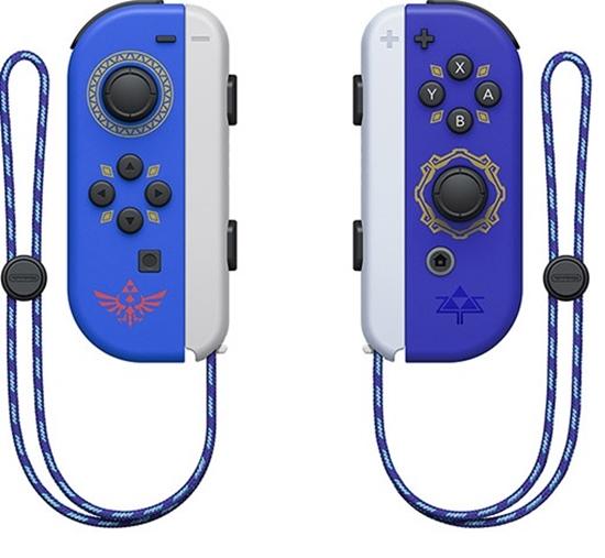 圖片 任天堂 Nintendo Switch 薩爾達傳說禦天之劍HD 限定版Joy-con手把 台灣公司貨