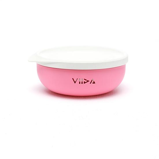 圖片 【VIIDA】Soufflé 抗菌不鏽鋼餐碗(學用三色碗口碑首選)