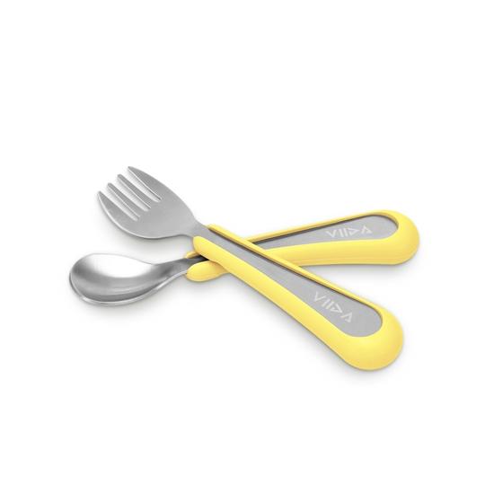 圖片 【VIIDA】Soufflé 抗菌不鏽鋼叉匙組 (S)
