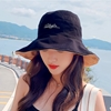 圖片 【KISSDIAMOND】大帽檐雙面戴任意折繡花遮陽帽(防曬/全防護/好收納/KD-0106)