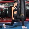 圖片 【KISSDIAMOND】彈力超高腰塑腹側口袋9分款緊身壓力褲-2060(瑜珈/運動/跑步/健身/瘦腿褲/女款5色S-XL)