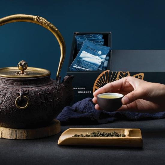 圖片 清香高山茶包禮盒x5盒